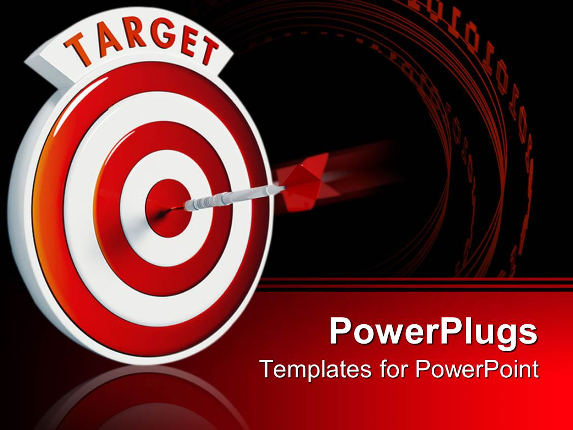 5000 Bullseye Powerpoint Templates W Bullseye Themed Backgrounds