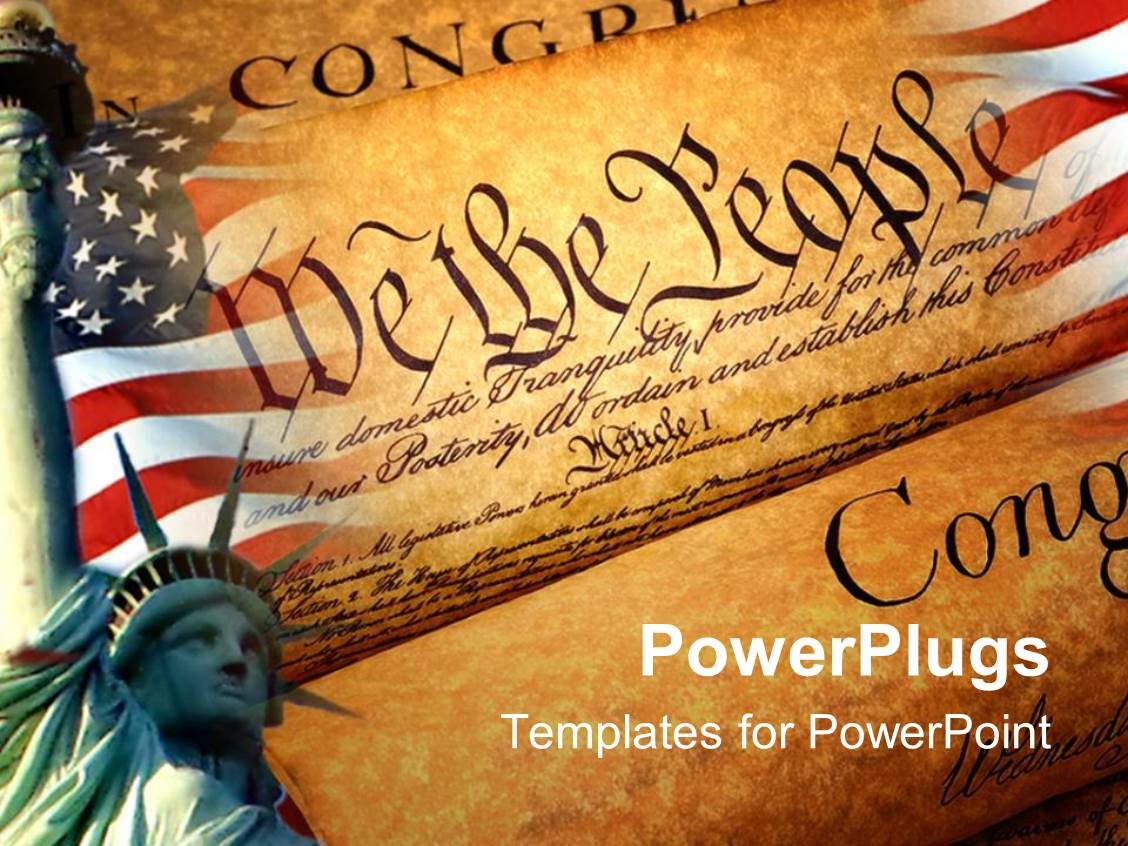 1000 american revolution powerpoint templates w american amazing presentation theme consisting of declaration of independence american flag statue of liberty patriotism toneelgroepblik Images