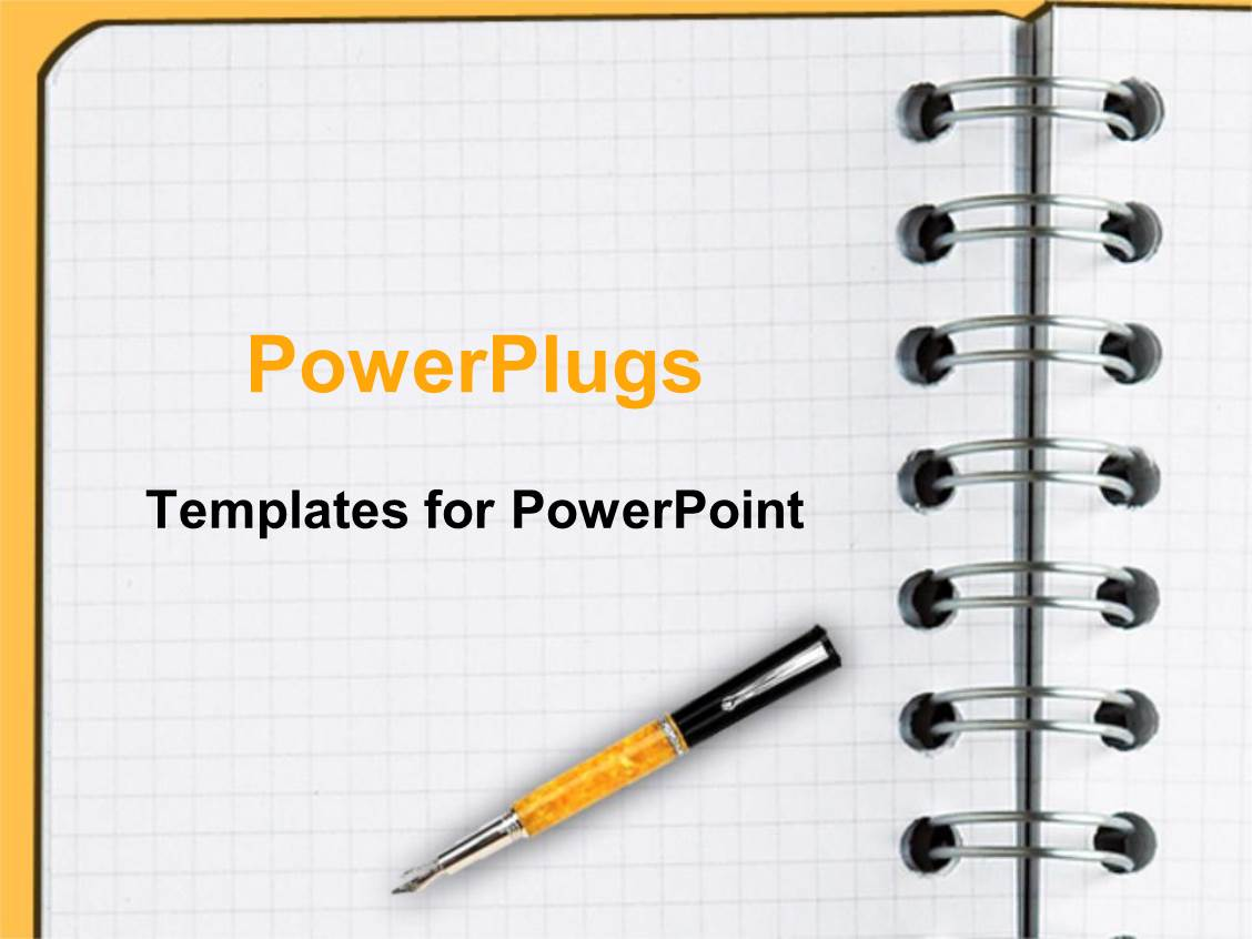 5000+ notebook paper powerpoint templates w/ notebook paper-themed