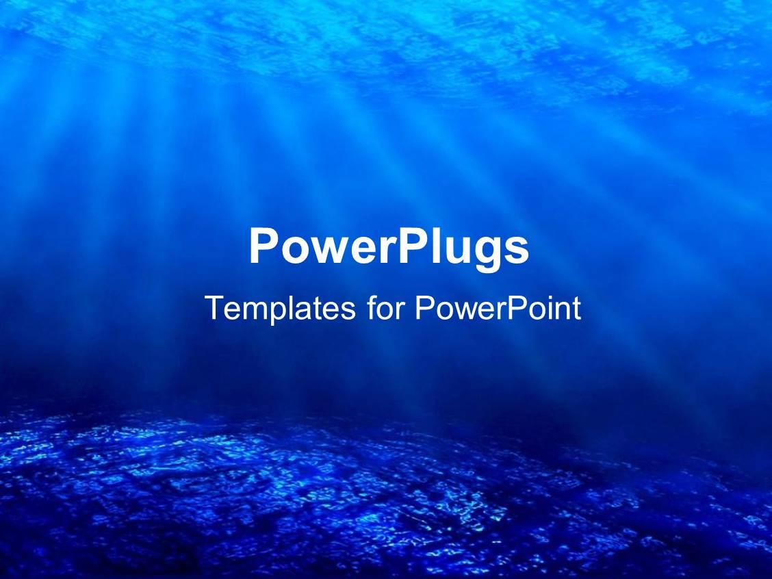 powerpoint templates ocean gallery powerpoint template