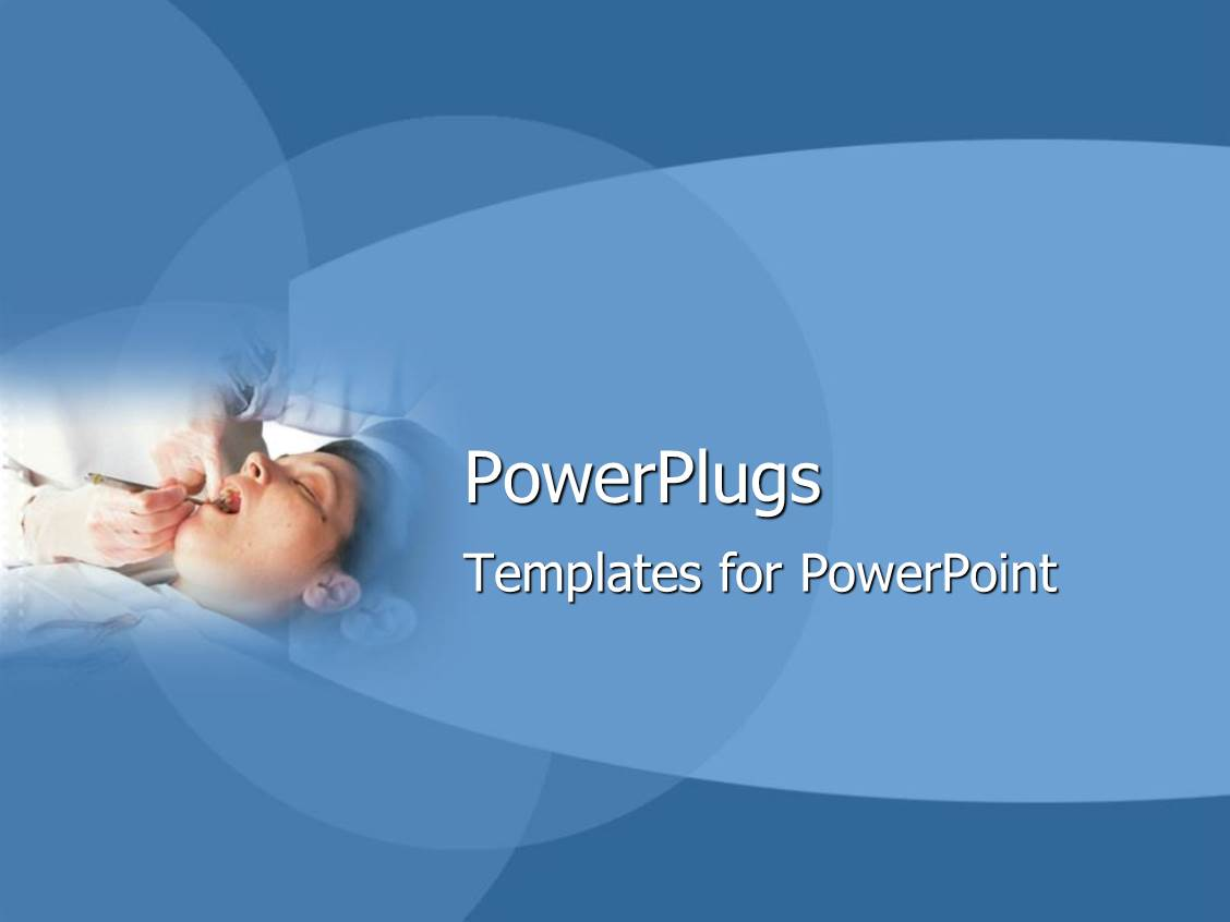 Dental powerpoint templates ppt themes with dental backgrounds slide set with dentist examining a relaxed patients teeth template size toneelgroepblik Image collections