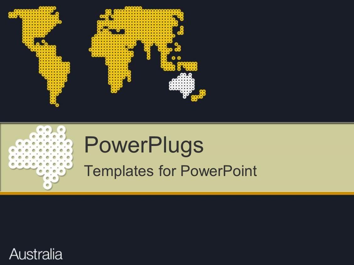 Australia powerpoint template akbaeenw australia powerpoint template toneelgroepblik Gallery