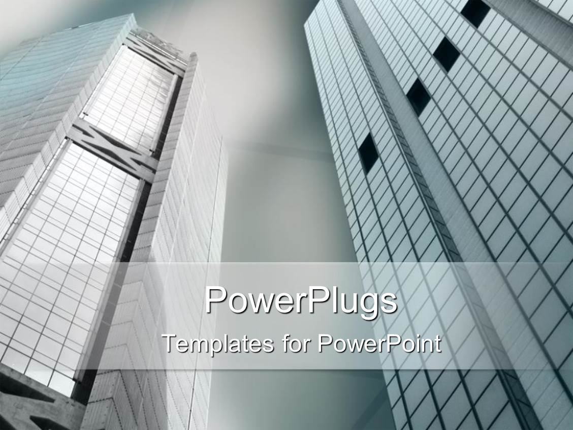 PowerPoint Template: Depiction of a plain ash colored background ...