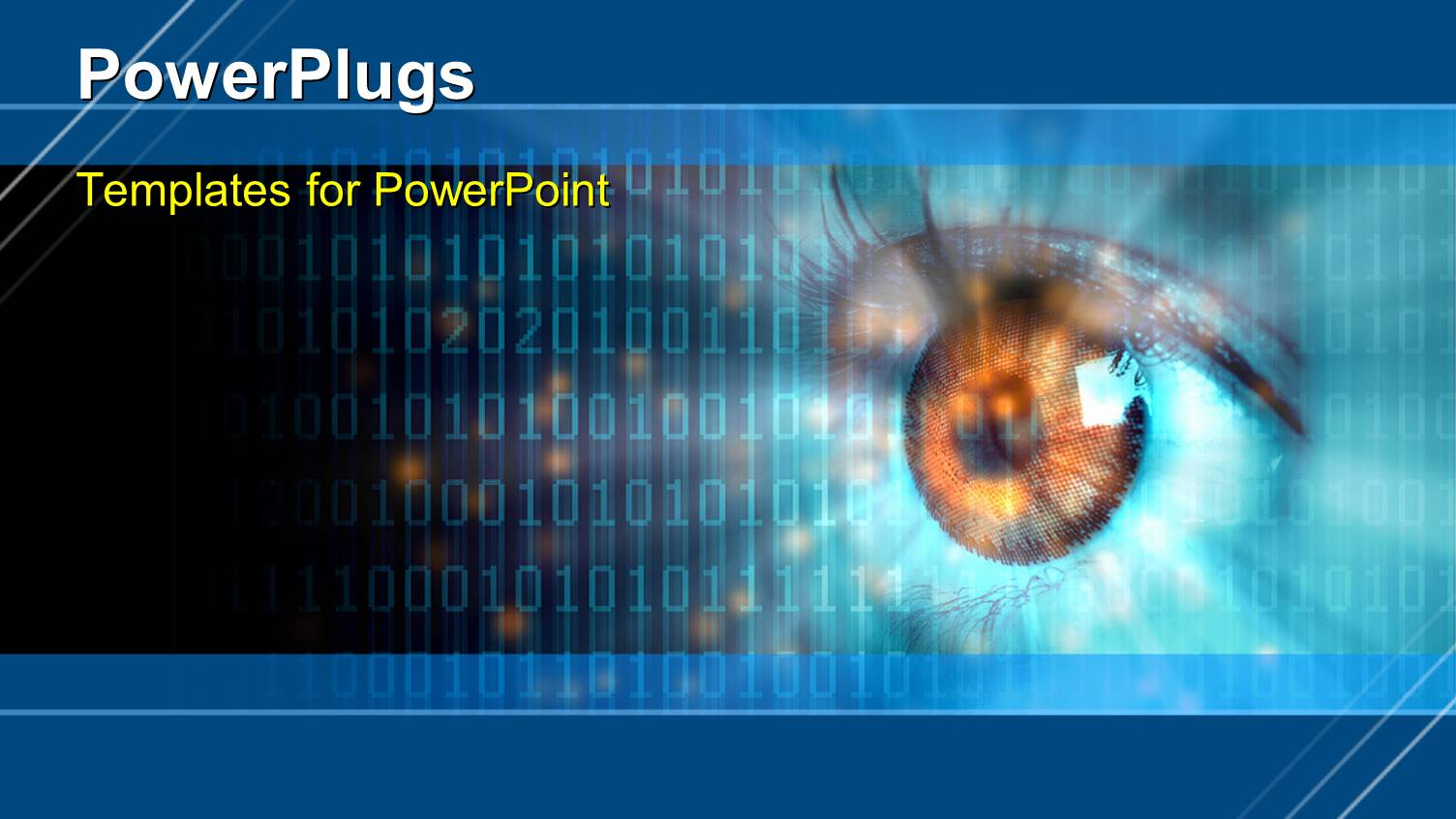 5000 computer vision powerpoint templates w computer vision themed audience pleasing presentation design featuring digital vision template size toneelgroepblik Choice Image