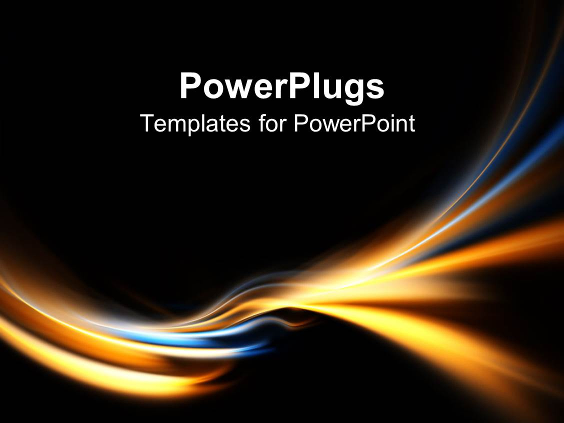 Chaos powerpoint templates ppt themes with chaos backgrounds audience pleasing presentation theme featuring electric blue and gold curves on black background template size alramifo Gallery