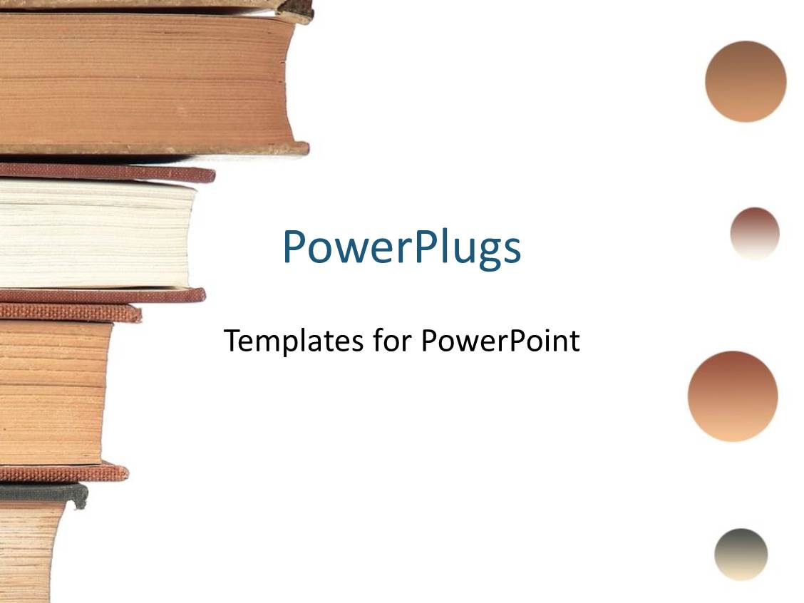 Powerpoint template four books placed over each other 3931 powerpoint template displaying four books placed over each other toneelgroepblik