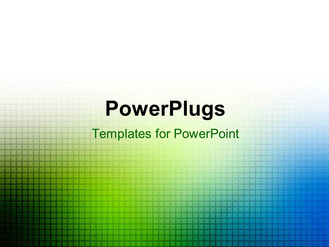 Powerpoint template green and blue blur grid over white powerpoint template displaying green and blue blur grid over white background alramifo Images