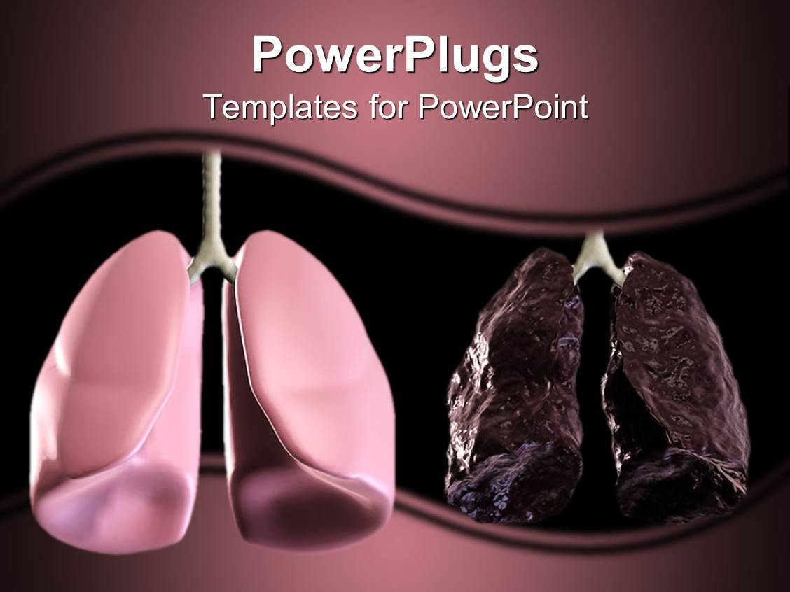 5000 lung powerpoint templates w lung themed backgrounds amazing theme consisting of healthy and bad lungs displayed in shades of purple template size toneelgroepblik Image collections