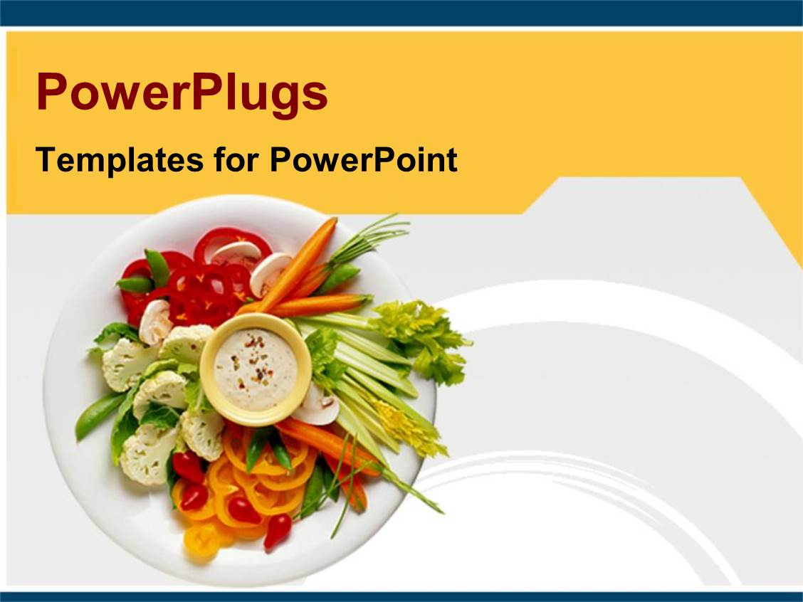 5000 Healthy Food Powerpoint Templates W Healthy Food Themed