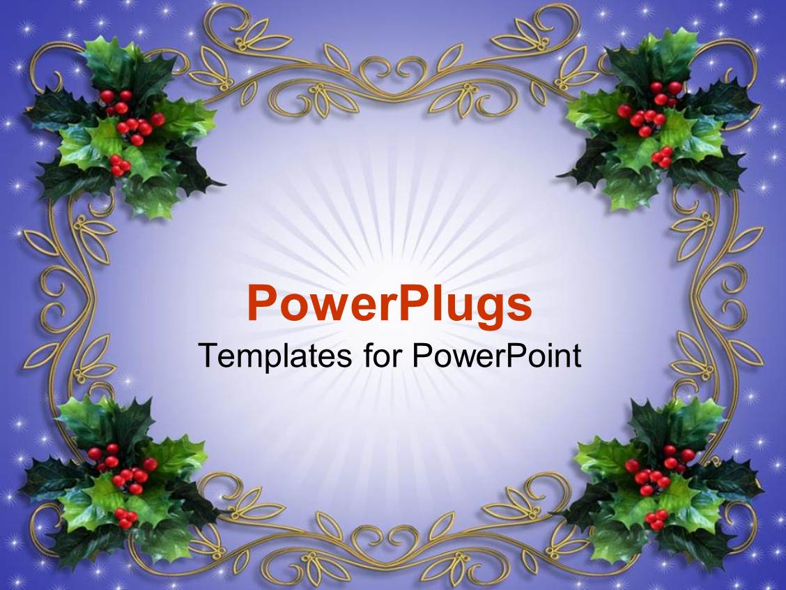Christmas Borders For Powerpoint Pablo Penantly Co