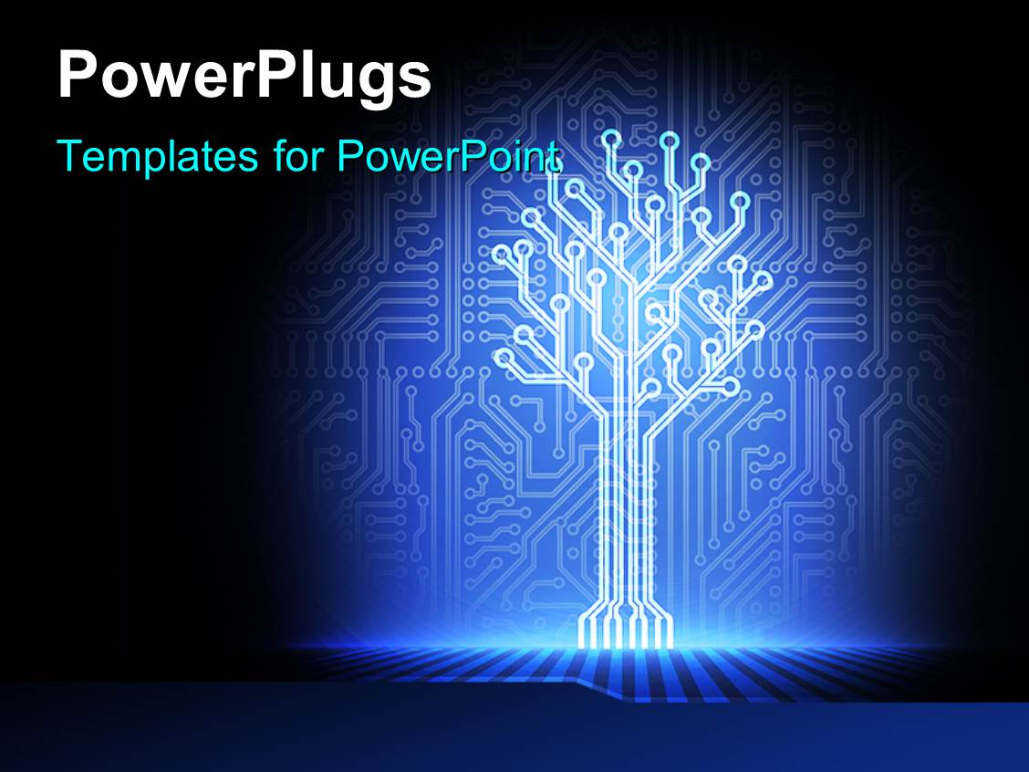 Circuits Ppt Commercial Wiring Powerpoint Presentation 5000 Electronics Templates W Themed Backgrounds