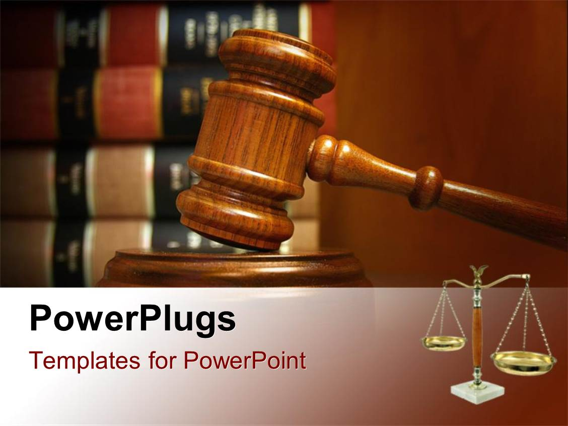 Law powerpoint templates ppt themes with law backgrounds colorful presentation theme having judges gavel and balance with law books stacked behind toneelgroepblik Choice Image