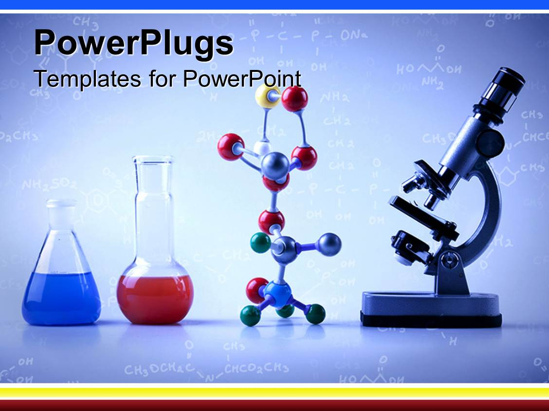 5000 fluid powerpoint templates w fluid themed backgrounds colorful ppt theme having lab equipment with vials with blue and red liquids multicolored molecular template size toneelgroepblik Choice Image