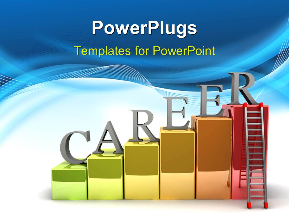5000 career ladder powerpoint templates w career ladder themed