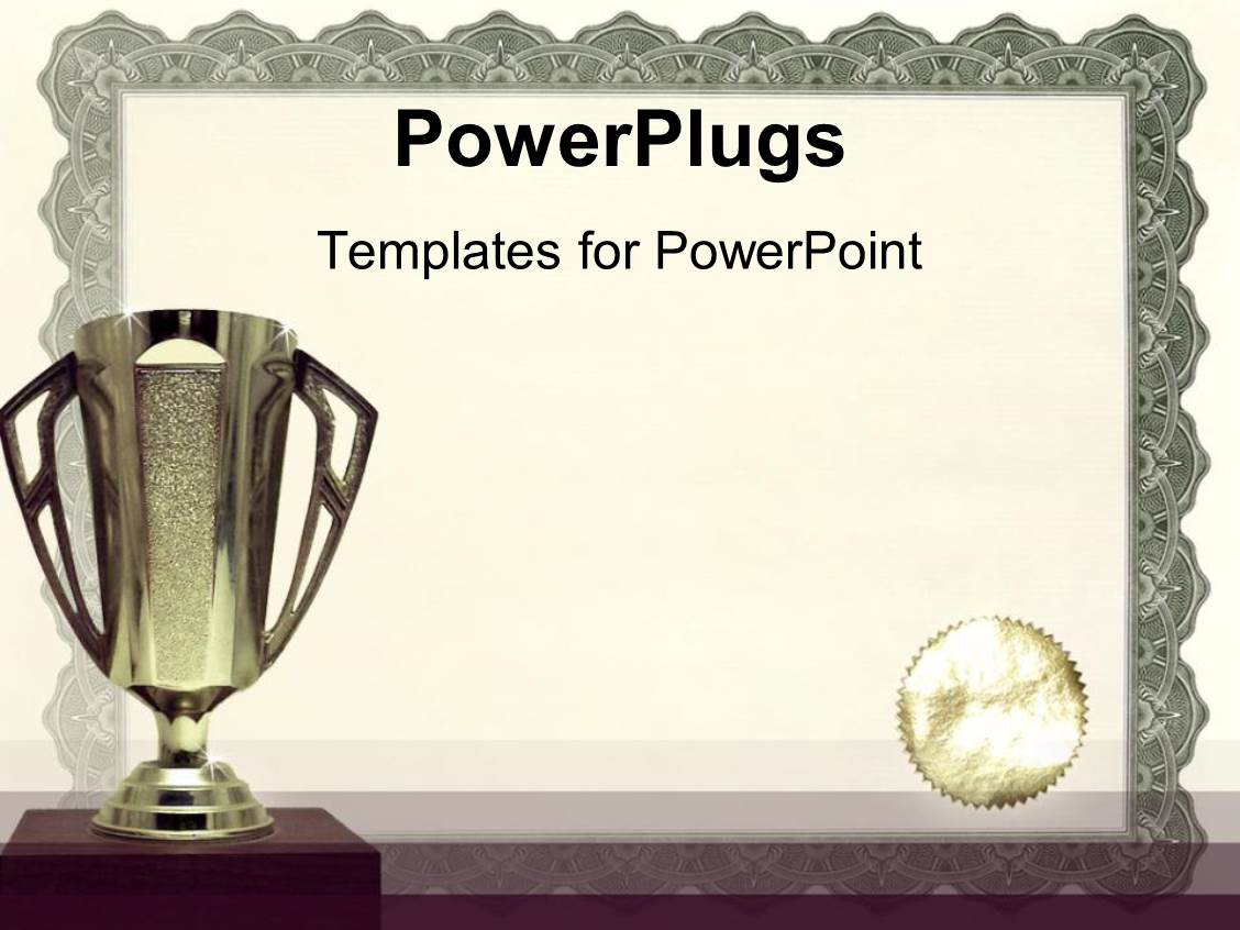 5000+ Award PowerPoint Templates w/ Award-Themed Backgrounds