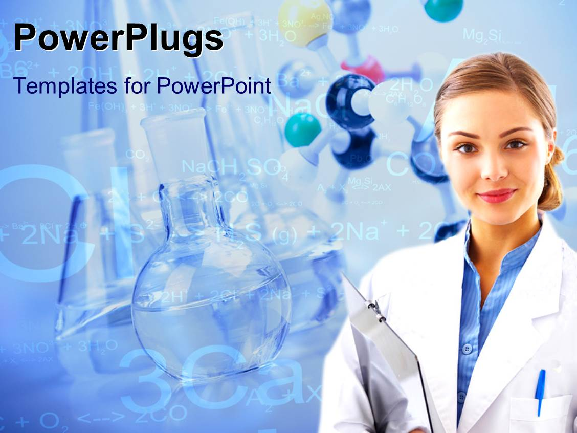 Laboratory powerpoint templates ppt themes with laboratory amazing ppt theme consisting of medical laboratory scientist with beakers and laboratory equipments in background template size toneelgroepblik Gallery