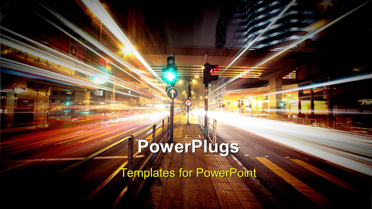 5000 urban powerpoint templates w urban themed backgrounds beautiful slides with night view of urban city with traffic lights toneelgroepblik Gallery