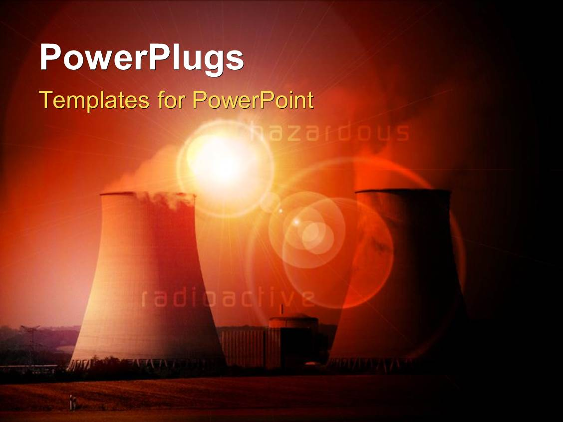 5000 Nuclear Energy PowerPoint Templates w Nuclear Energy Themed