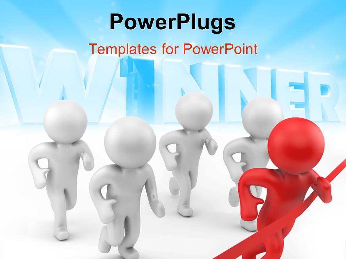 500 winner announcement powerpoint templates w winner announcement