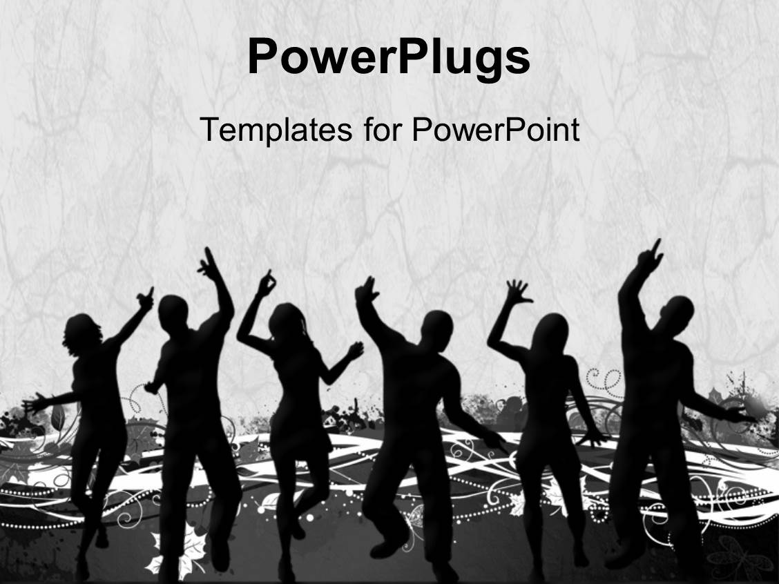 5000 dance powerpoint templates w dance themed backgrounds ppt theme enhanced with a number of people with grayish background template size toneelgroepblik Gallery