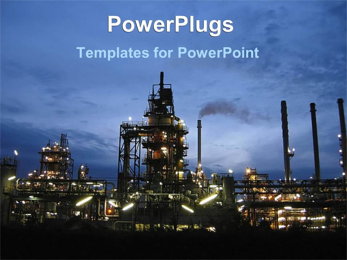 Oil Industry Powerpoint Templates W Oil Industry Themed Backgrounds