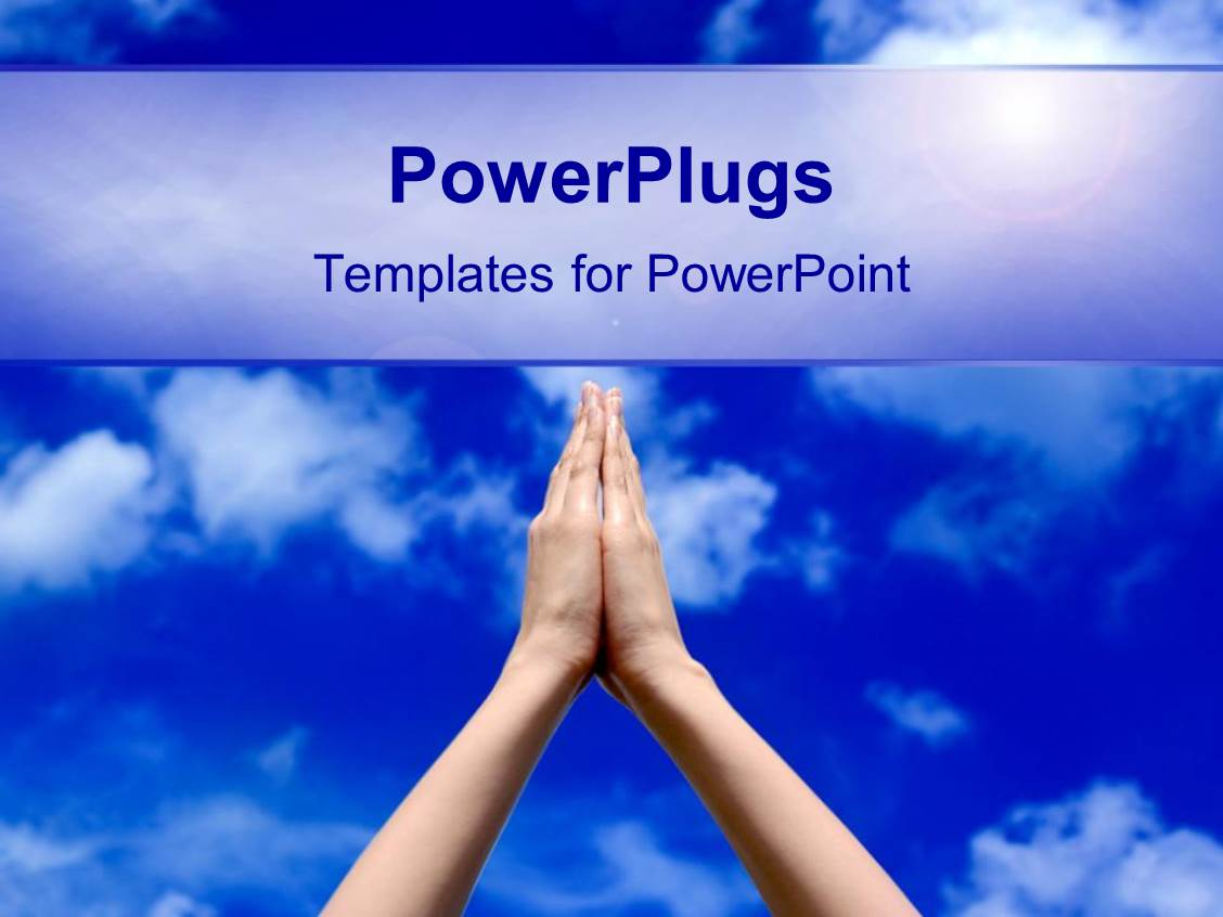 Spiritual powerpoint templates gallery templates example free faith powerpoint templates free choice image templates example powerpoint template prayer concept with praying hands and toneelgroepblik Choice Image