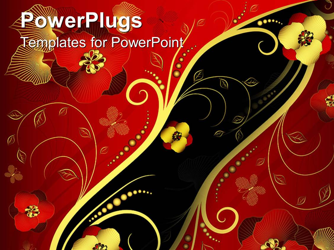 5000 floral powerpoint templates w floral themed backgrounds