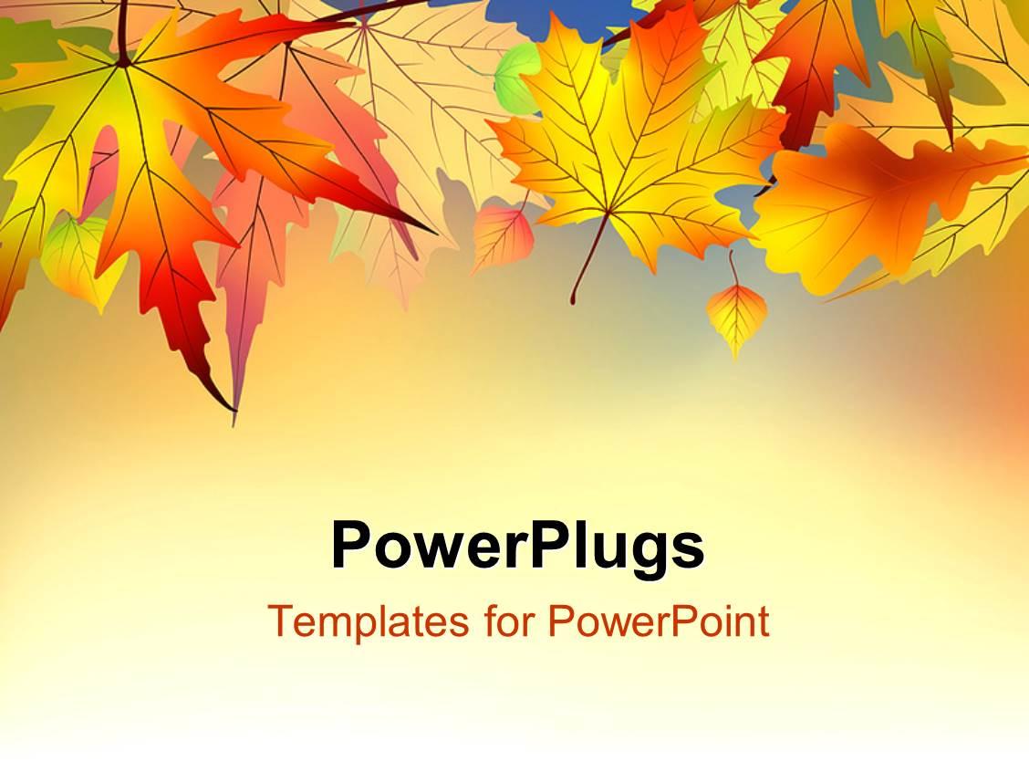 Fall power point template yeniscale fall power point template toneelgroepblik Choice Image