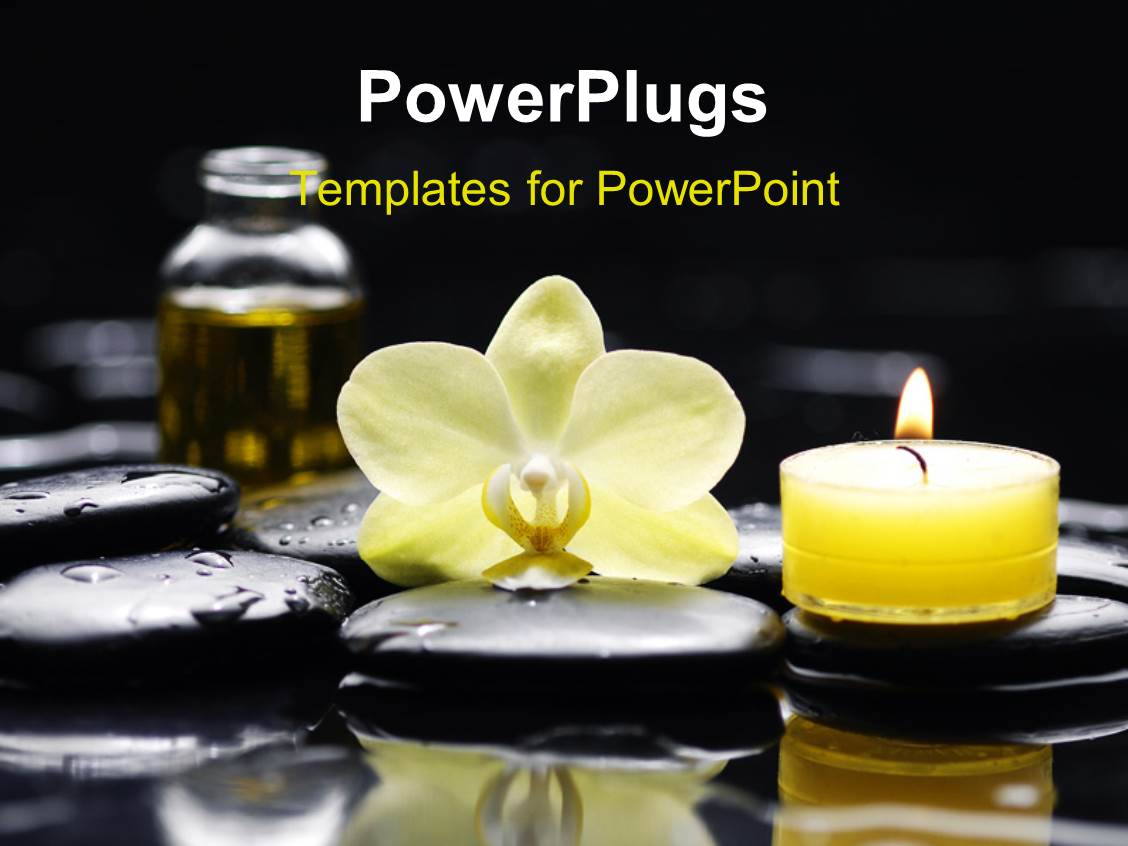 Massage PowerPoint Templates W MassageThemed Backgrounds - Best of flower powerpoint background concept