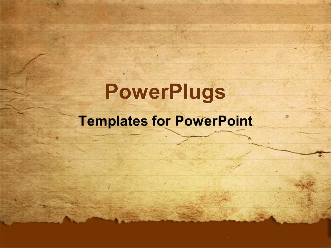 Top old paper powerpoint templates backgrounds slides and ppt themes amazing presentation consisting of a representation of old paper with place for text toneelgroepblik Image collections