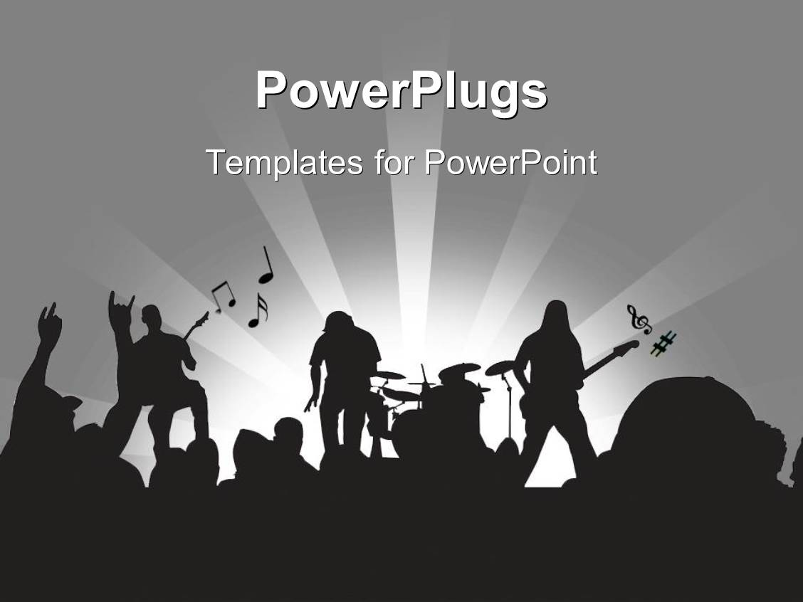 5000 rock band powerpoint templates w rock band themed backgrounds
