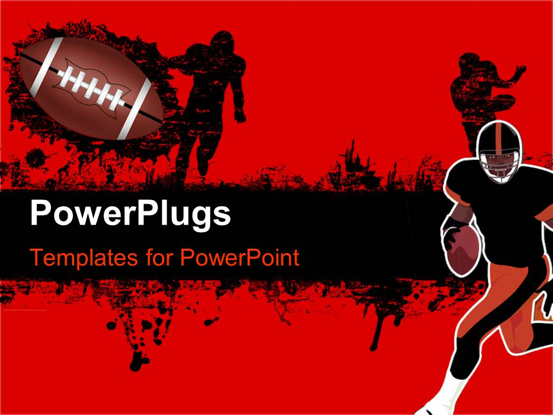 American powerpoint template images templates example free download powerpoint template american football players during match over elegant presentation theme enhanced with a rugby player toneelgroepblik Choice Image