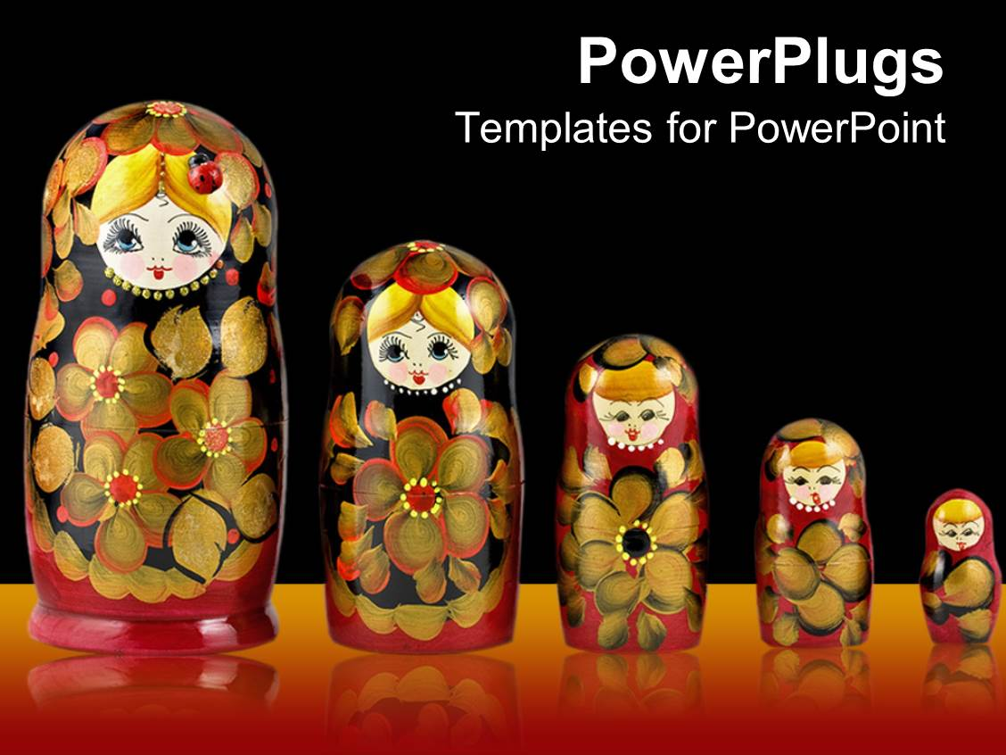 5000 doll powerpoint templates w doll themed backgrounds presentation theme with russian culture toneelgroepblik Images