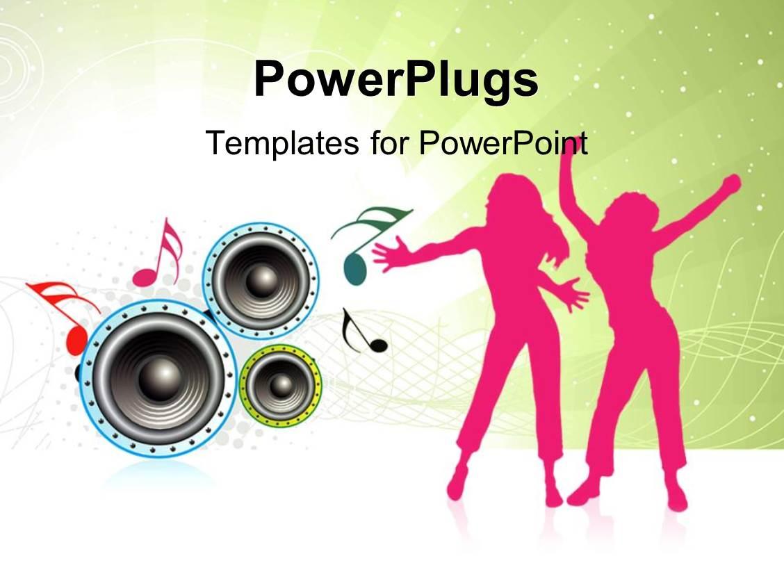 Kpop Music Powerpoint Templates W Kpop Music Themed Backgrounds