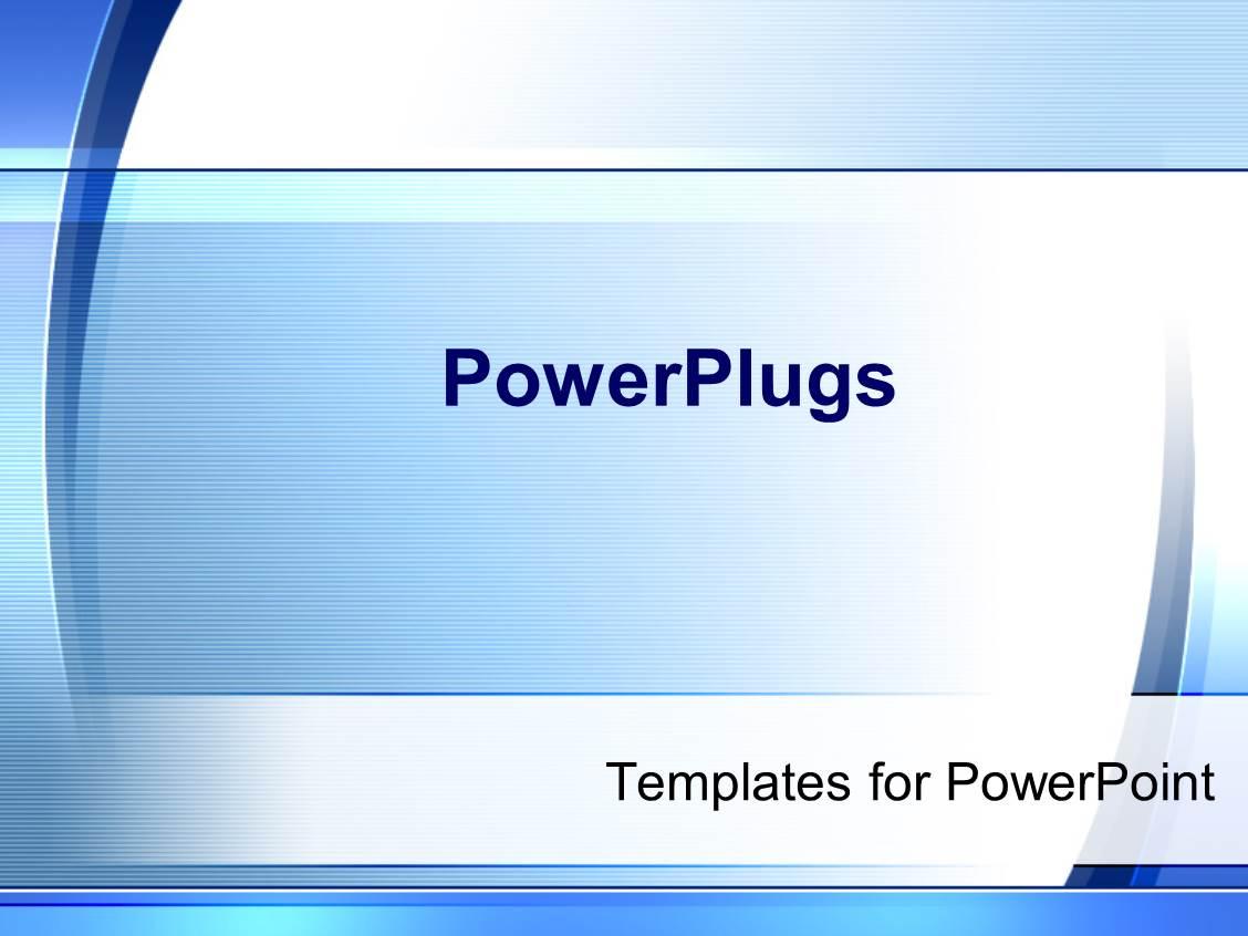 Powerplugs templates for powerpoint powerpoint template leadership powerpoint template simple modern blue and white powerplugs templates for powerpoint toneelgroepblik Image collections