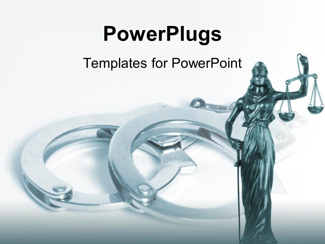 Crime powerpoint templates ppt themes with crime backgrounds beautiful presentation with statue of justice with scale crime handcuffs judicial system legislative law toneelgroepblik Gallery