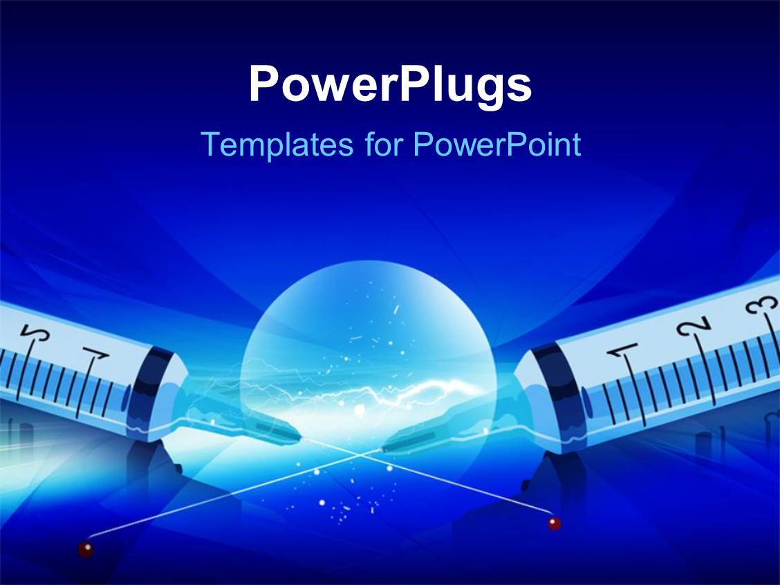 5000 diabetes powerpoint templates w diabetes themed backgrounds audience pleasing presentation featuring syringe with markings and medical on a blue background toneelgroepblik Image collections