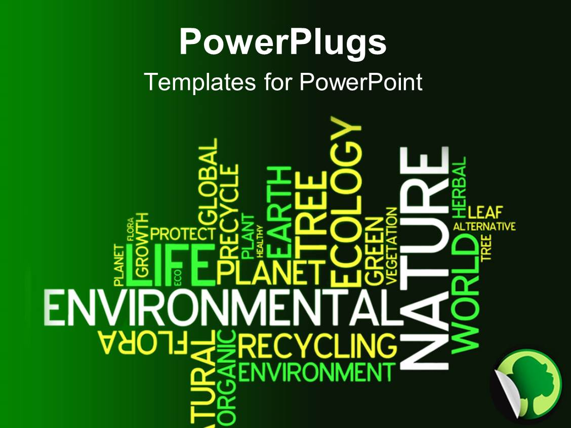 5000 environmental pollution powerpoint templates w environmental colorful presentation having text related to environment with a mixture of dark and light greenish background template size toneelgroepblik Image collections
