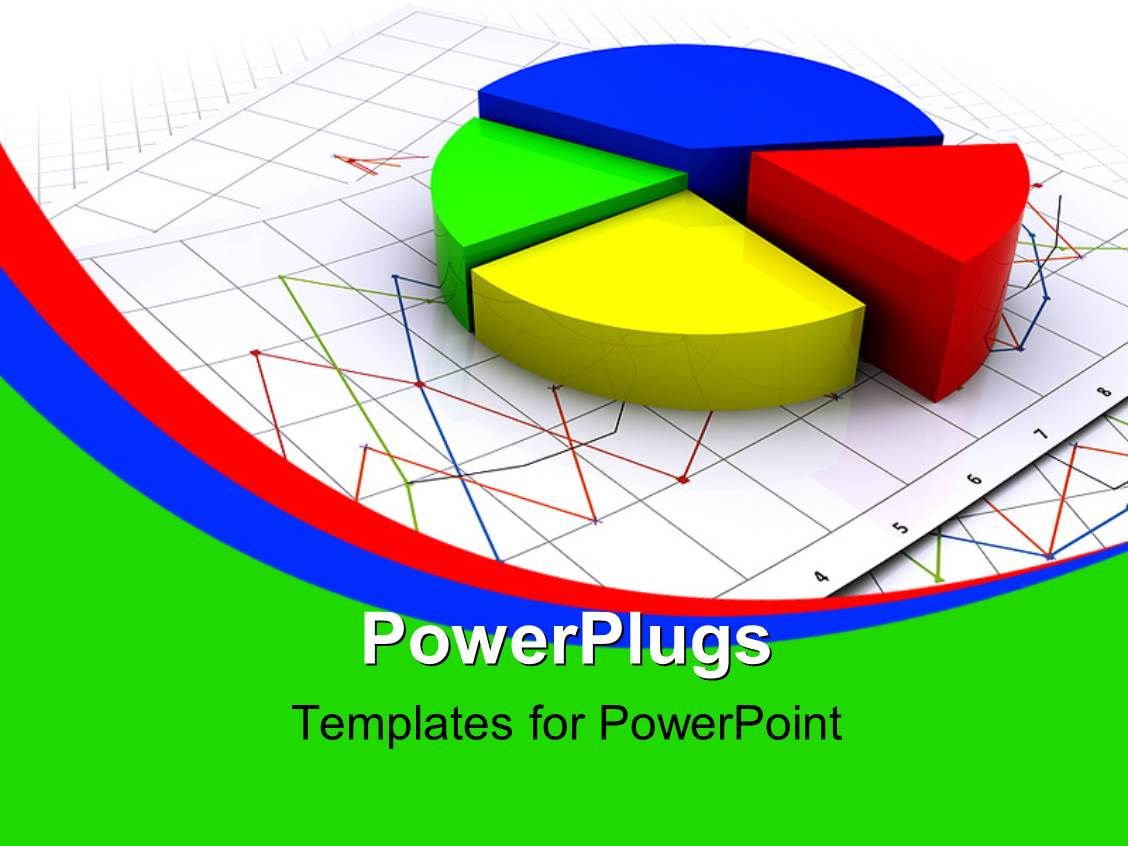 Powerpoint template three dimensional exploded pie chart on powerpoint template displaying three dimensional exploded pie chart on business charts nvjuhfo Image collections