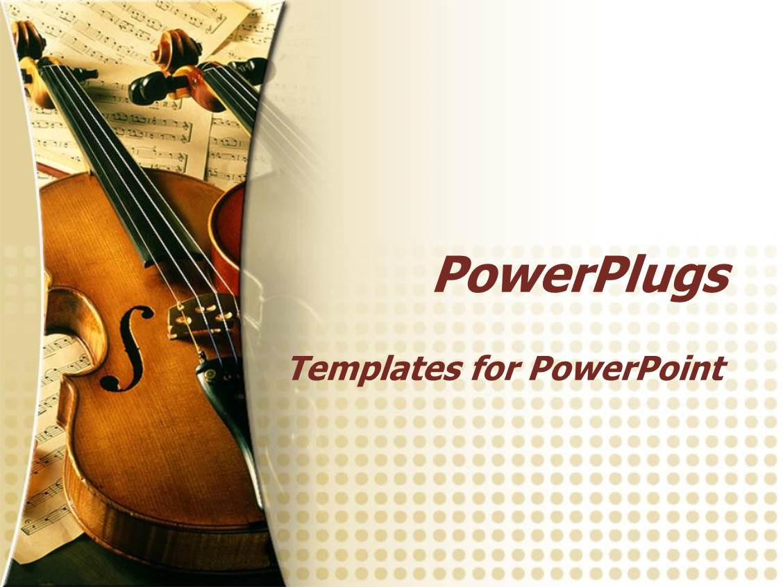 5000 music powerpoint templates w music themed backgrounds elegant presentation enhanced with two violins on multiple music sheets in the background inspiring music concept toneelgroepblik Gallery