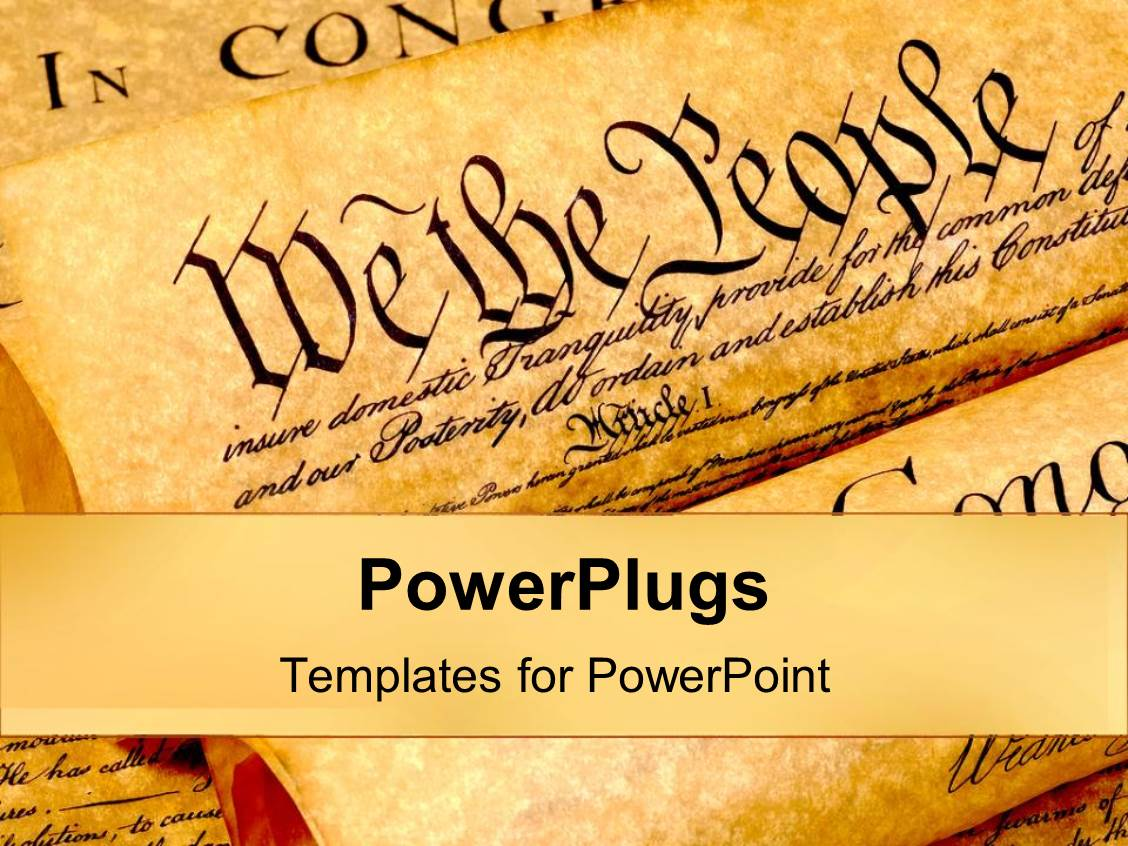 5000 history powerpoint templates w history themed backgrounds presentation theme consisting of the united states of american constitution history of founding fathers values as toneelgroepblik Choice Image