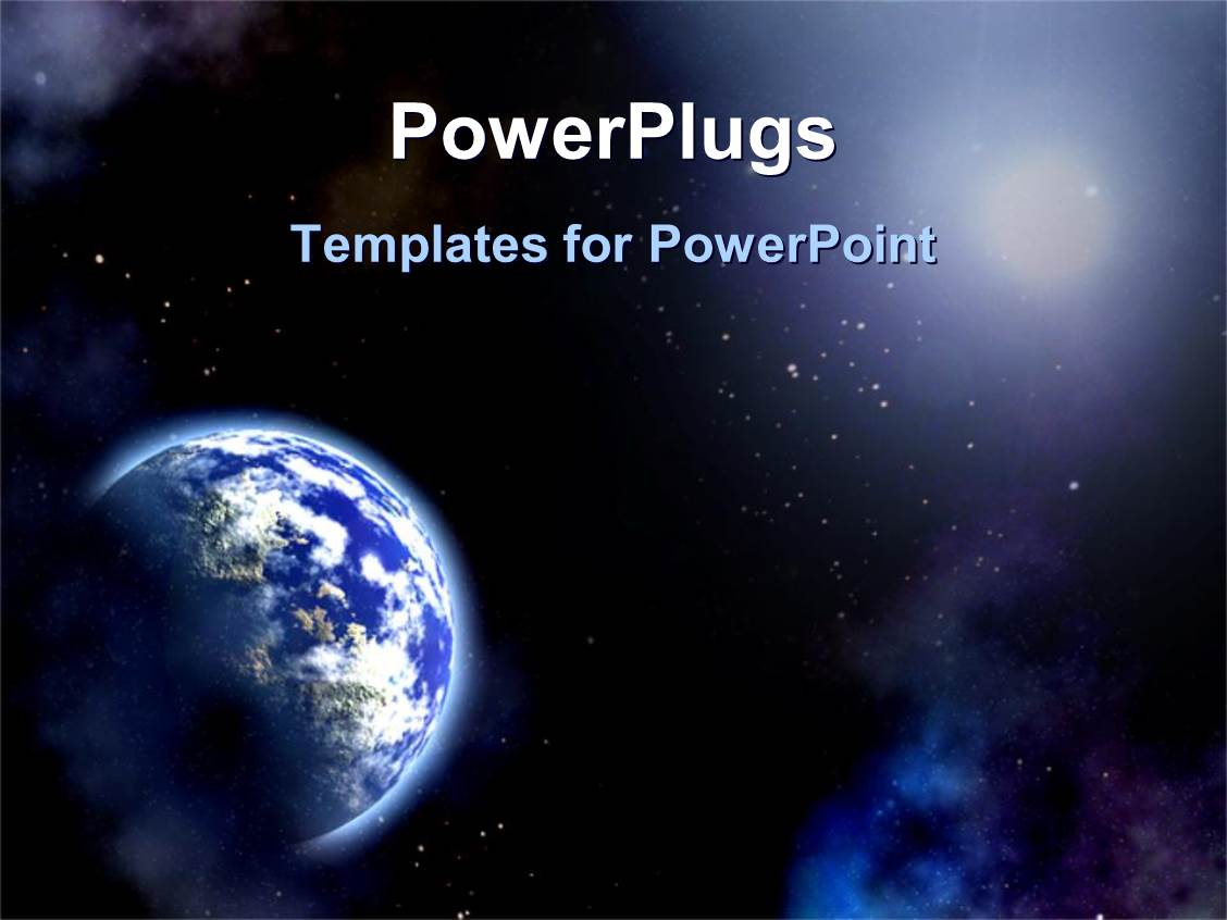 5000 earth powerpoint templates w earth themed backgrounds elegant presentation theme enhanced with the universe toneelgroepblik Choice Image