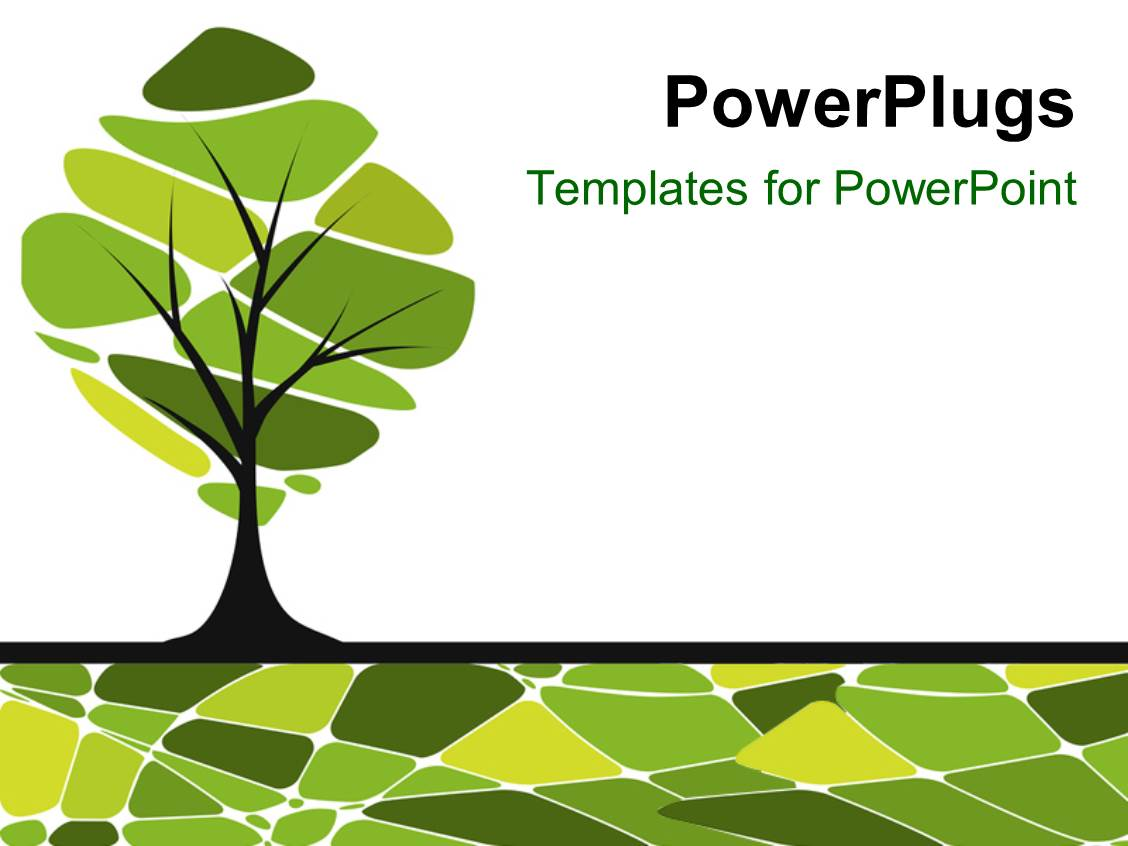 Powerpoint template vector card design with stylized trees 14903 powerpoint template displaying vector card design with stylized trees alramifo Choice Image