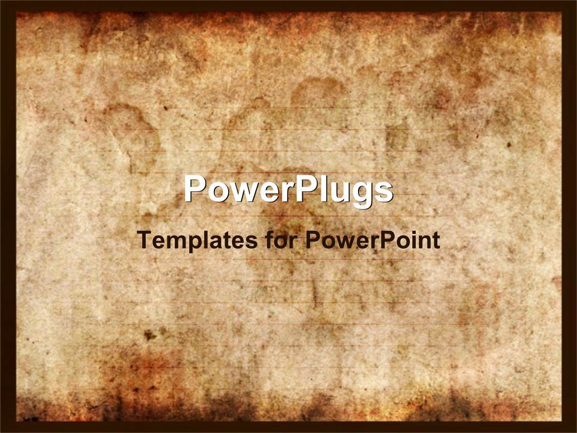 Top old paper powerpoint templates backgrounds slides and ppt themes ppt layouts consisting of vintage background of old paper with signs of burning or touch of template size toneelgroepblik Images