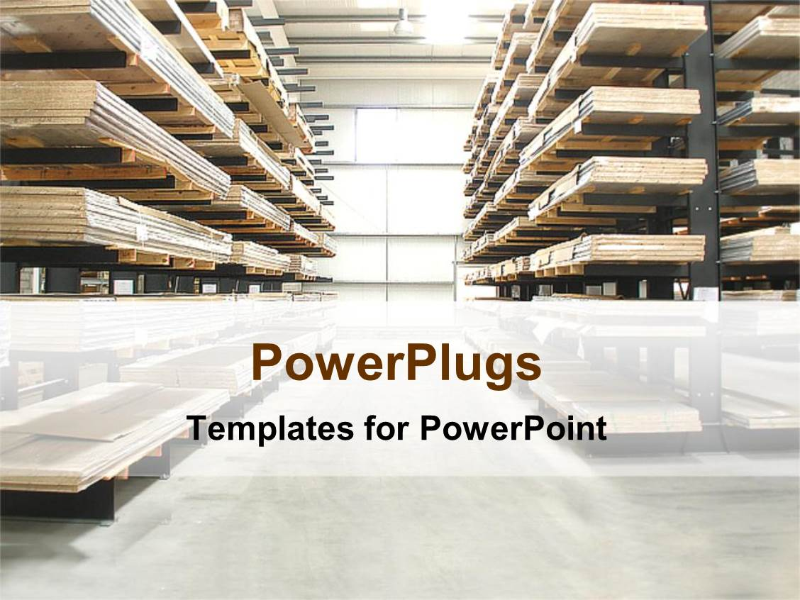 Warehouse powerpoint templates ppt themes with warehouse backgrounds colorful presentation having warehouse with wooden stacked shelves toneelgroepblik Gallery