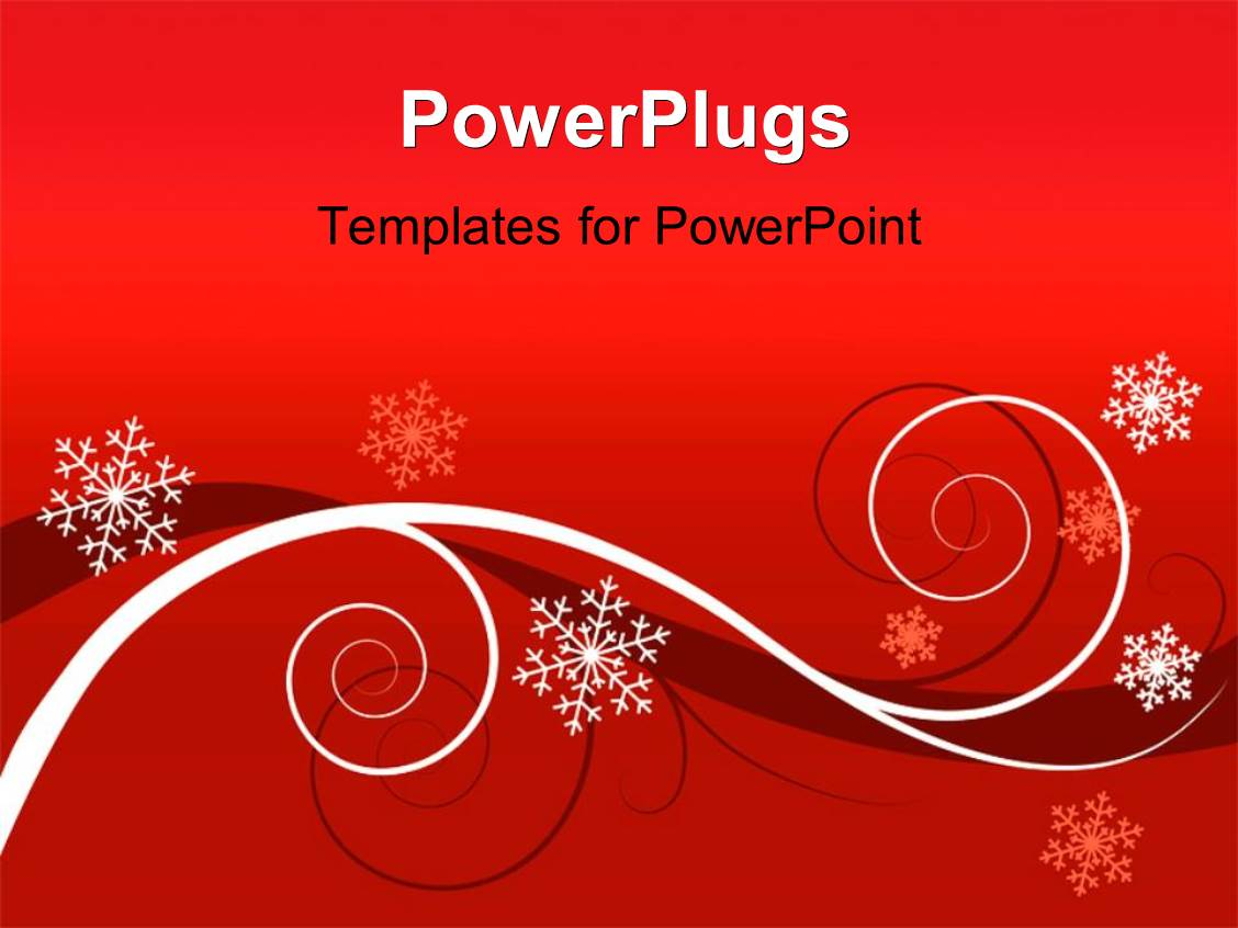 Powerpoint template floral background with white and different elegant ppt theme enhanced with winter red floral background christmas greeting card alramifo Choice Image