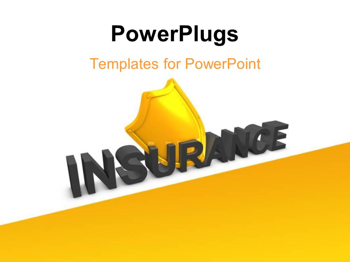 insurance presentation template  5000  Insurance PowerPoint Templates w/ Insurance-Themed Backgrounds
