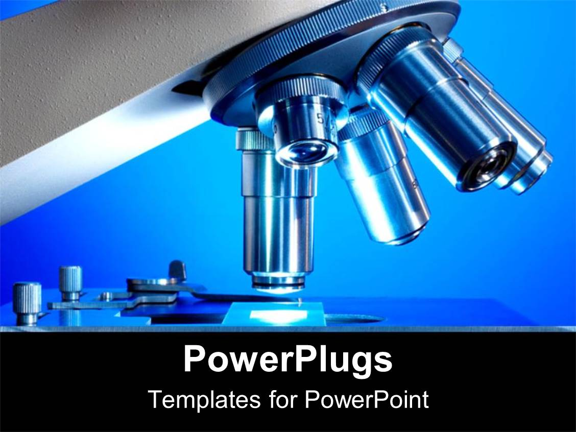 Microscope powerpoint templates ppt themes with microscope amazing slides consisting of a zoom in view of a microscope toneelgroepblik Gallery