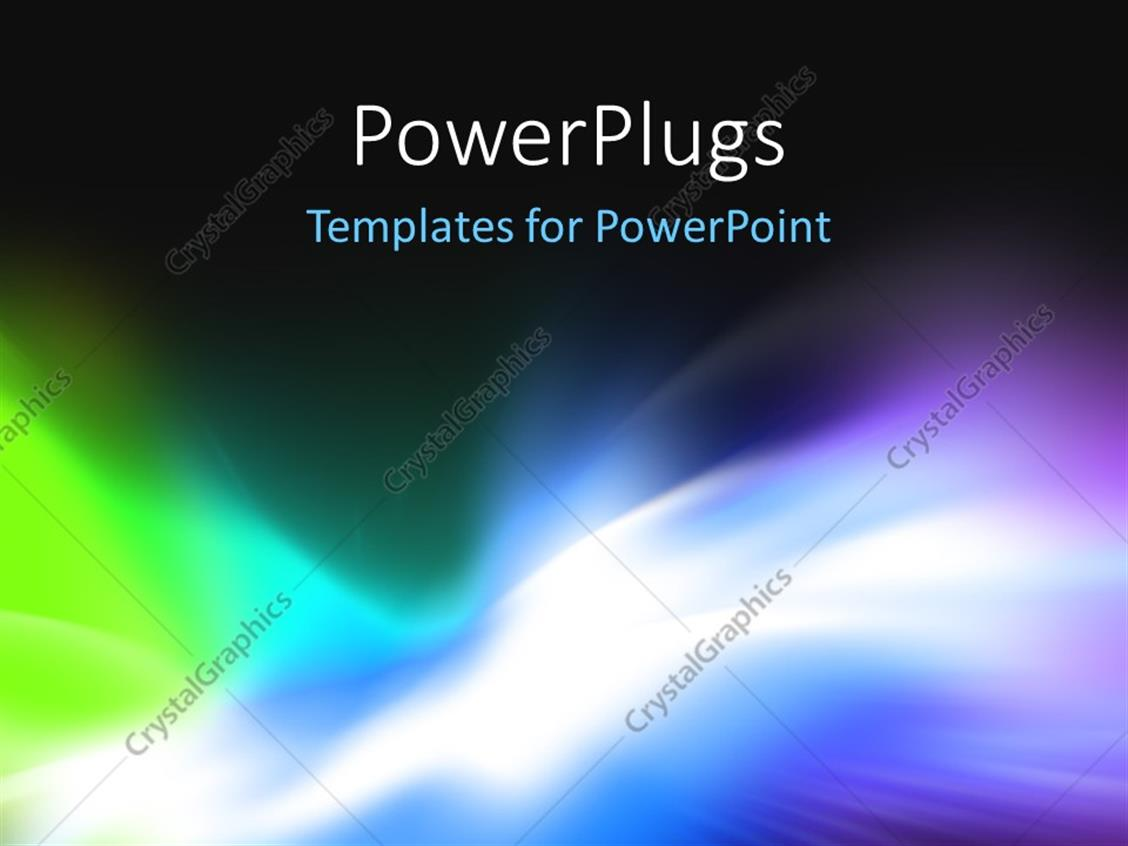 Powerpoint Template Abstract Background For Design Visualizing