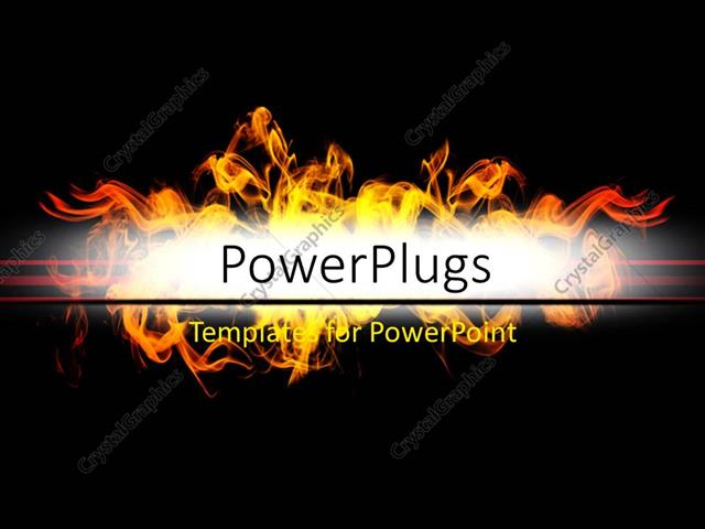 Powerpoint template abstract background with flames over dark color powerpoint template displaying abstract background with flames over dark color toneelgroepblik Images